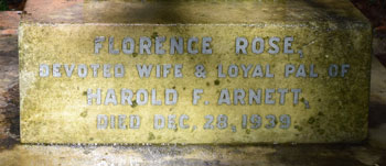 Inscription to Florence Rose Arnett