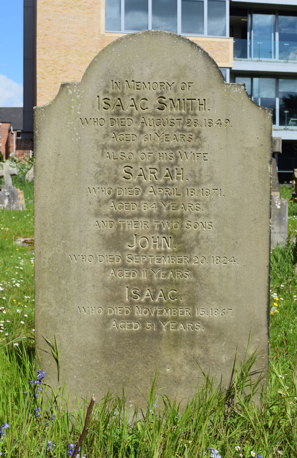 Isaac Smith grave