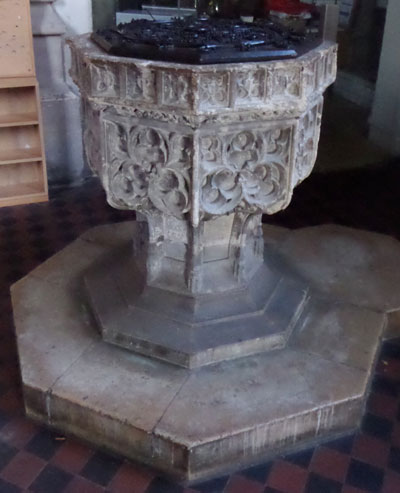St Mary Magdalen font